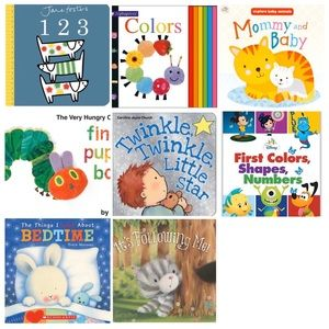 Bundle of 8 Baby Books
